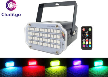 China Remote Control Stage Strobe Lights Super Bright 48 RGB Sound Activated Party supplier