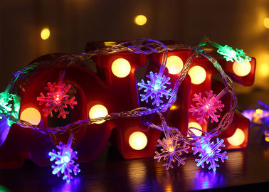 China Optional Length Decorative Indoor String Lights Battery Powered 14.8ft 3AA Battery 1.5V supplier