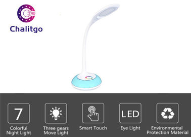 China Multi Angle Small Table Reading Lamps , Study Table Lamp Touch Control 280lm factory