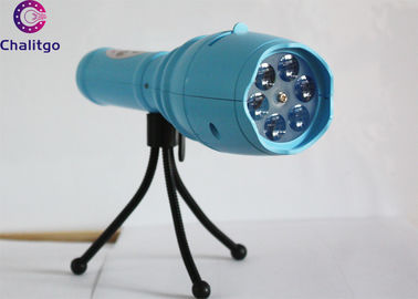 China White Decorative Projector Lights Handheld Flashlight For Bedroom Optional Color factory