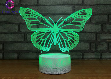 China Battery Operated Bedroom Desk Lamp Butterfly Lights For Sleeping factory