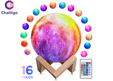 Moon Lamp 16 RGB Colors 3D Night Light for Kids Bedroom Decoration Birthday Gifts