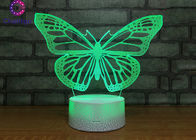 Battery Operated Bedroom Desk Lamp Butterfly Lights For Sleeping